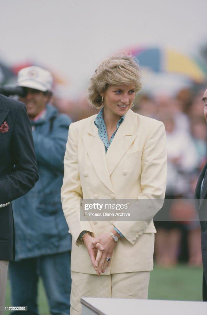 Diana At Polo : ニュース写真