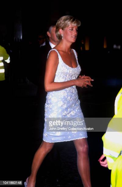 Diana Princess of Wales at Christie's London 2nd June 1997