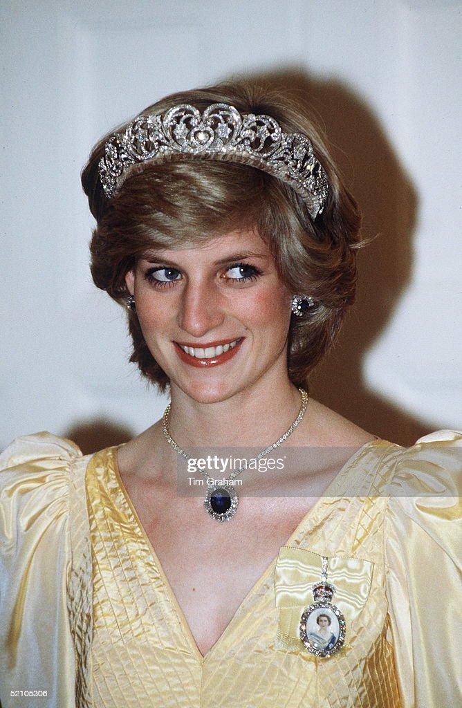 Diana Canberra Tiara : News Photo