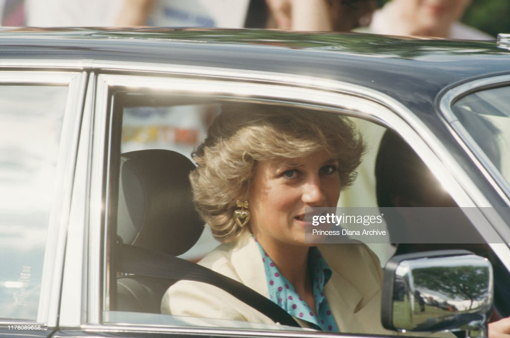 Diana In Windsor : News Photo