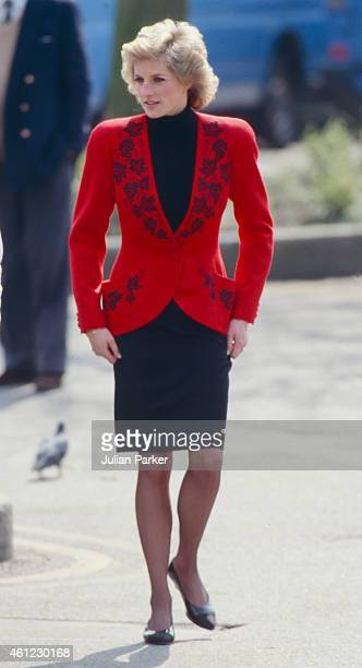 Diana, Princess of Wales at the Launch of The Bike 89 Charity event, on April 18, 1989 in London, United Kingdom.