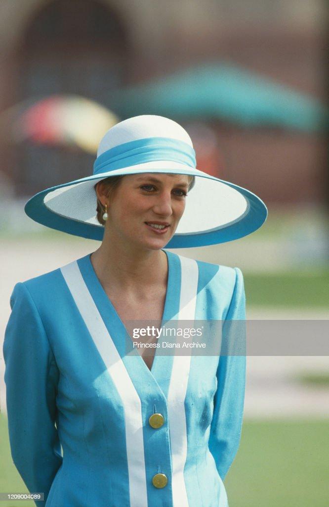 Diana In Delhi : News Photo