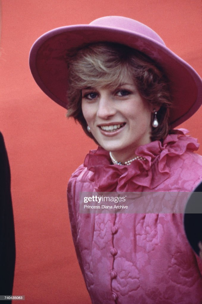 Diana During State Visit : News Photo