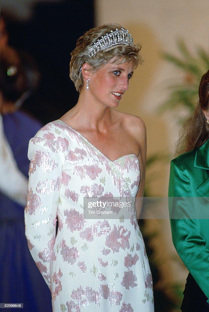 Diana Banquet Brazil : News Photo