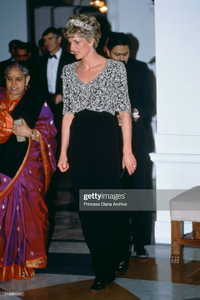 Diana In India : News Photo