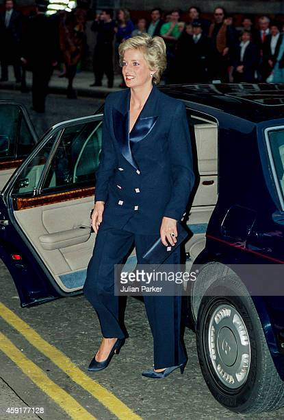 KINGDOM APRIL 29 Diana Princess of Wales attends a Charity Concert at The Royal Albert Hall on April 29 1990 in London United Kingdom