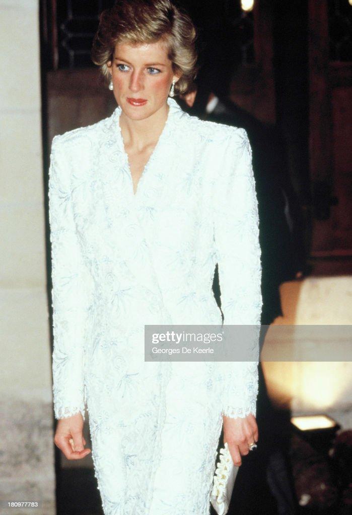 Princess Diana In France : News Photo