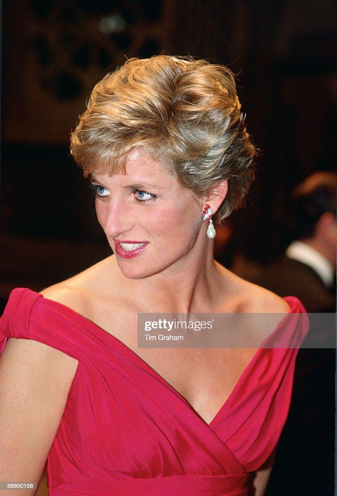 Princess Diana In Japan : News Photo