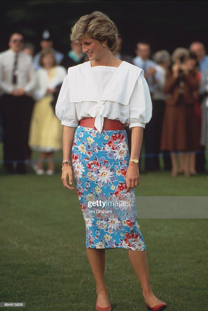 Diana At Cirencester : News Photo