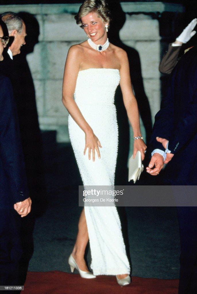 Princess Diana In Hungary : News Photo