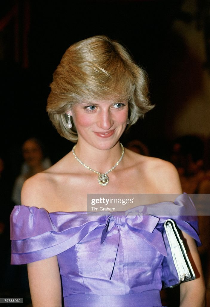 "Diana, Princess of Wales attends the ballet ""Coppelia"" durin : Foto jornalística"