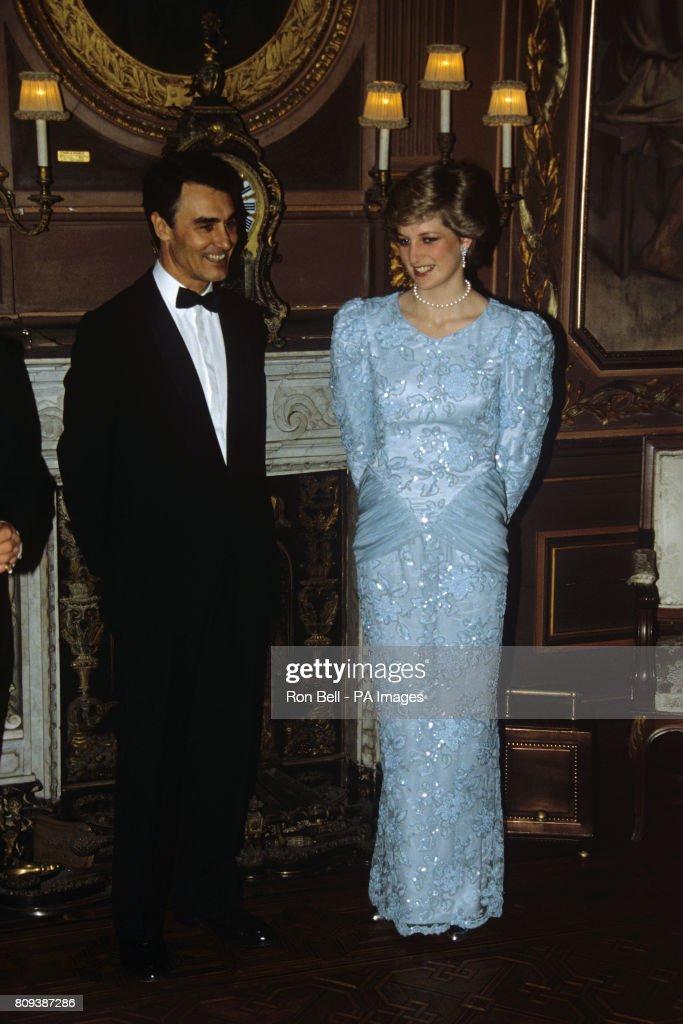 Royalty - Prince and Princess of Wales - Portugal Visit : News Photo