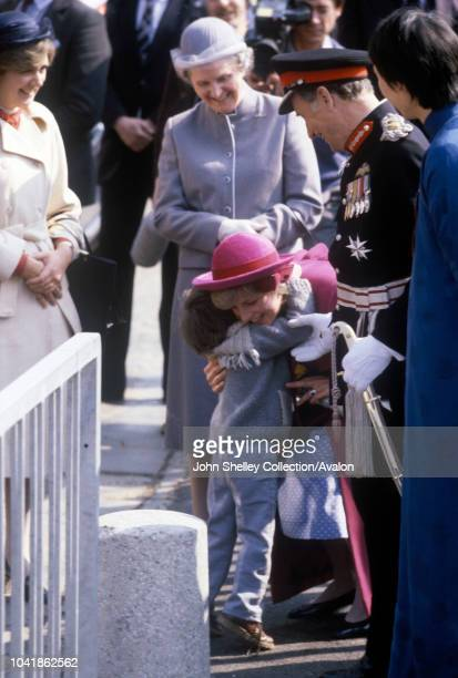 Diana Princess of Wales Chinese Community Centre Henry St Liverpool 2nd April 1982