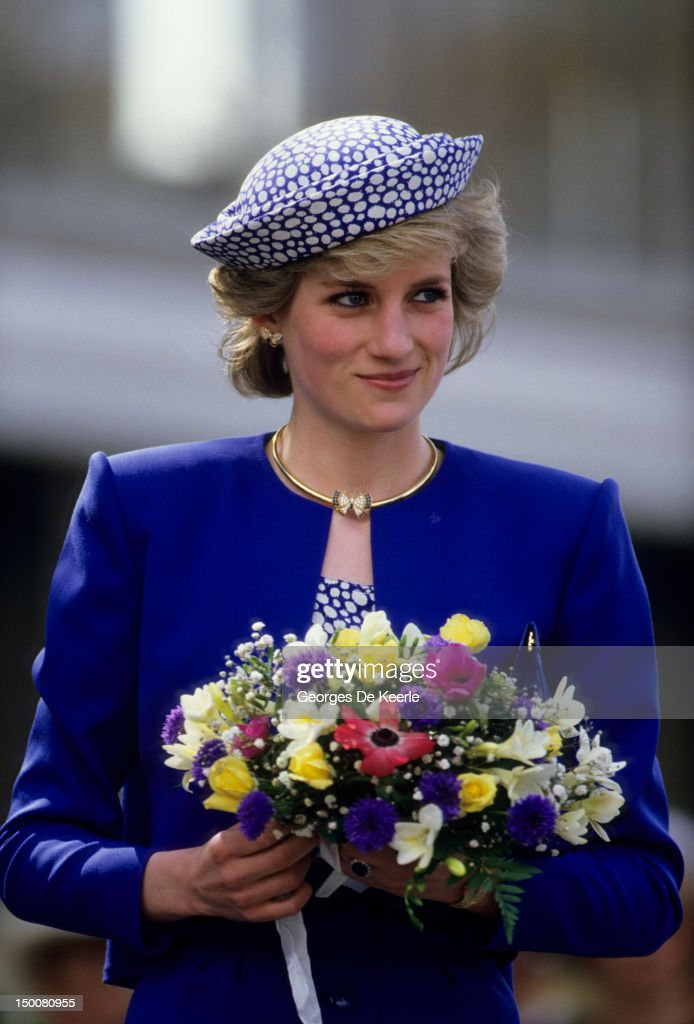 Diana in Canada : News Photo