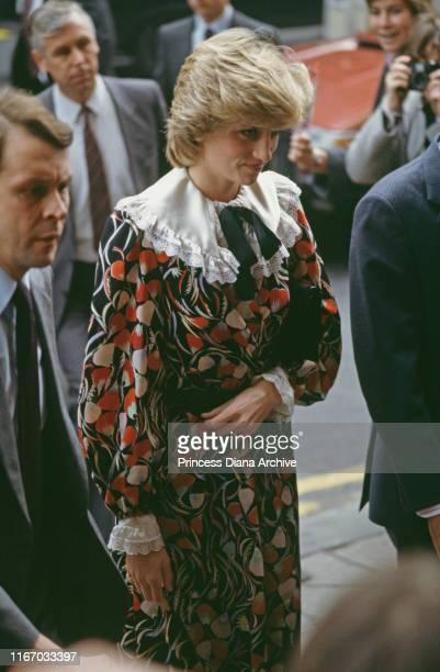 Diana, Princess of Wales during a visit to Brixton in London, November 1983.