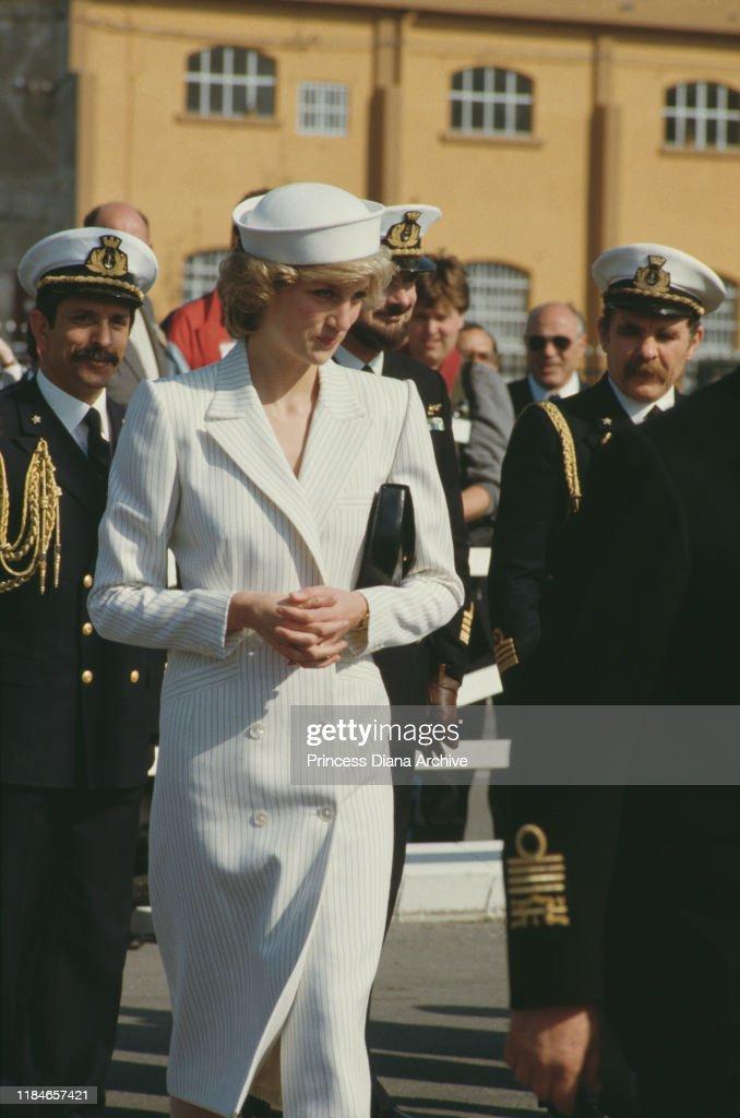 Diana In La Spezia : News Photo
