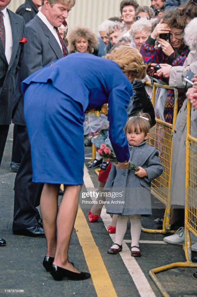 Diana In Luton : News Photo