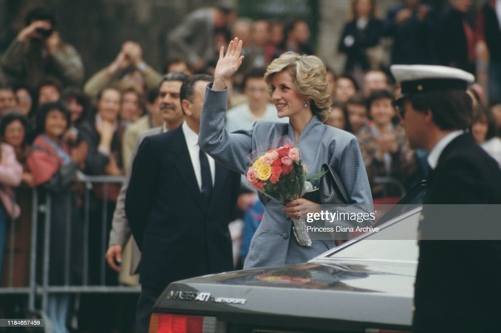 Diana In Milan : News Photo