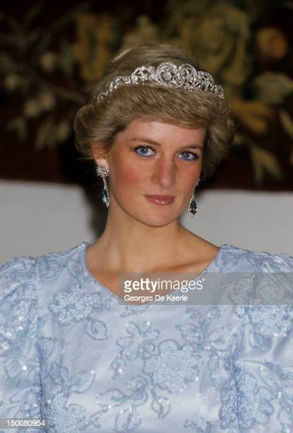 Diana Princess of Wales during a visit to Munich on November 5 1987