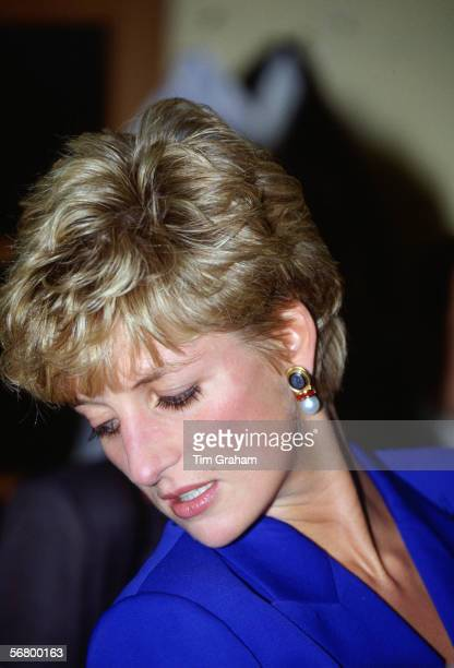 Diana Princess of Wales during a visit to Seoul in Korea