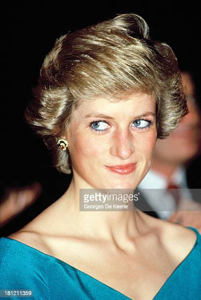 Diana, Princess of Wales, during her official visit to Indonesia on November, 1989 in Jakarta, Indonesia.