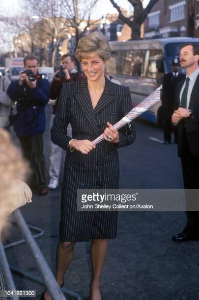 Diana Princess of Wales Hampstead 21st January 1991