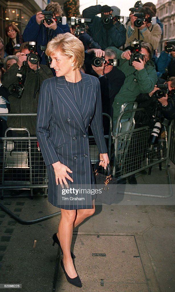 Diana Leaving Bafta : News Photo