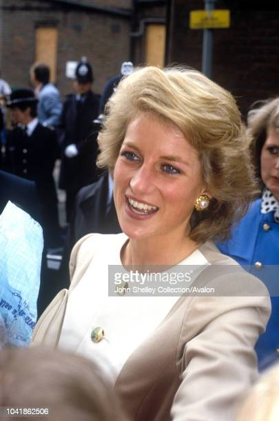 Diana, Princess of Wales, High Wycombe, 13th September 1989.
