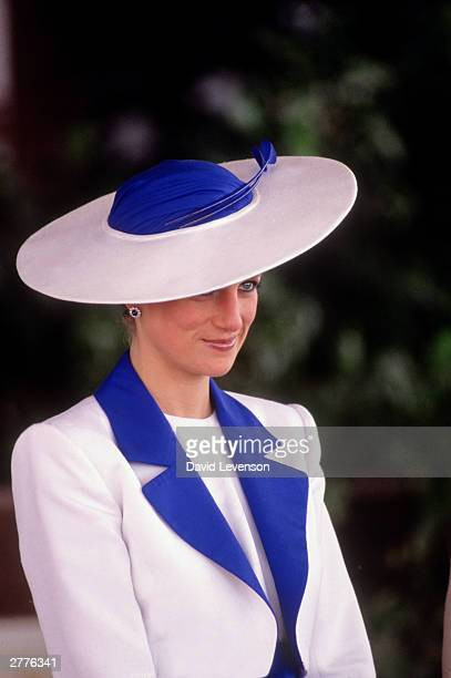 Diana Princess of Wales in Kuwait March 1989 during the Royal Tour of the Gulf