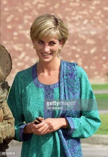 Diana Princess Of Wales In Lahore Pakistan