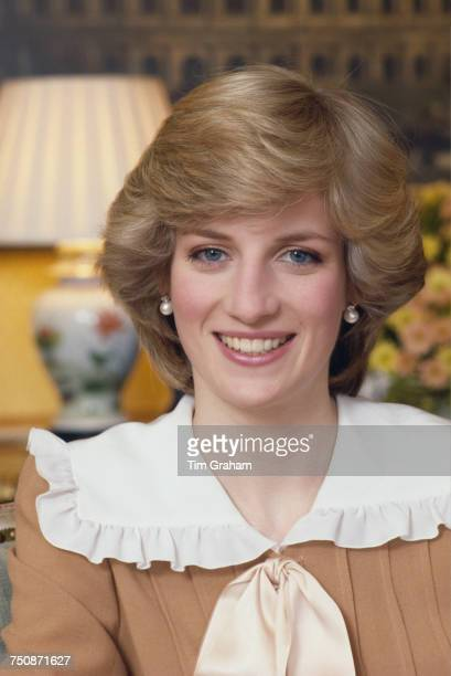 Diana Princess of Wales Kensington Palace London 31st January 1983
