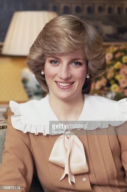 Diana Princess of Wales , Kensington Palace, London, 31st January 1983.