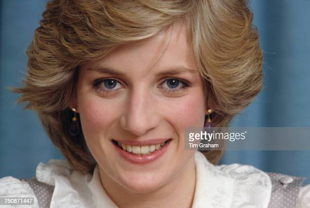 Diana Princess of Wales Kensington Palace London February 1983