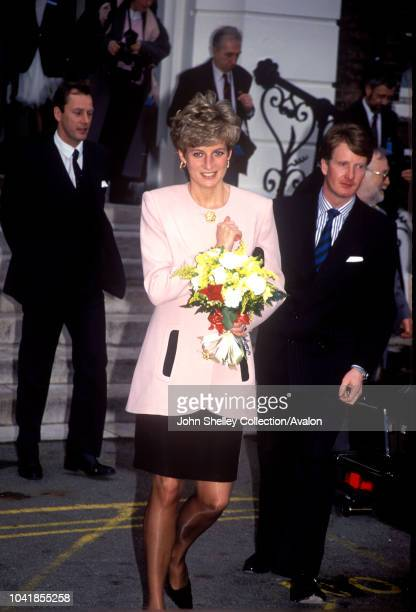 Diana Princess of Wales London Chest Hospital Bethnal Green 20th January 1992