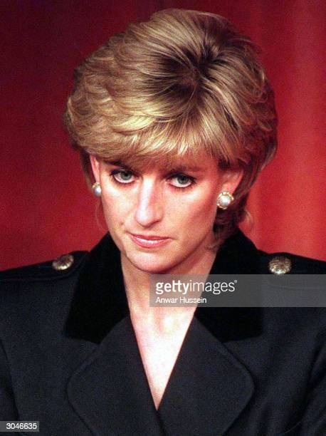 This undated photo shows Diana Princess of Wales Diana told of a lonely existence in her married life to Prince Charles in audio tapes aired by the...