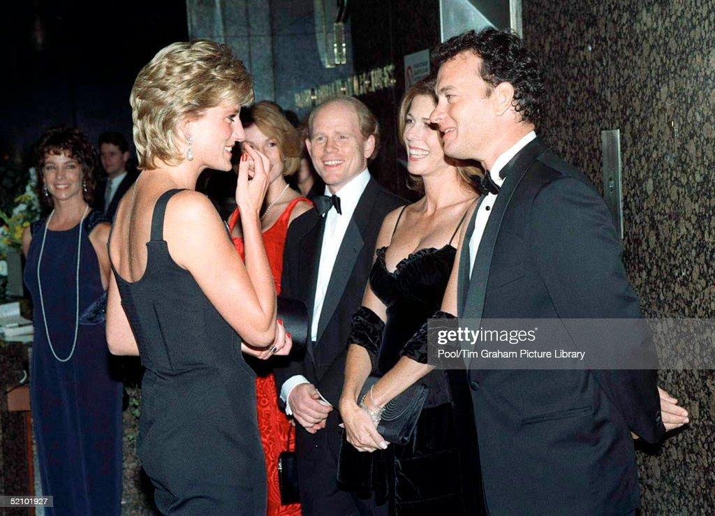 Diana Tom Hanks Rita Wilson And Ron Howard : News Photo