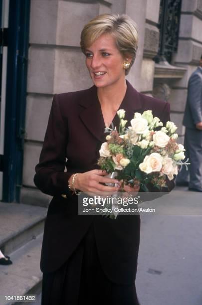 Diana Princess of Wales Merchant Taylors' Hall London 27th September 1990