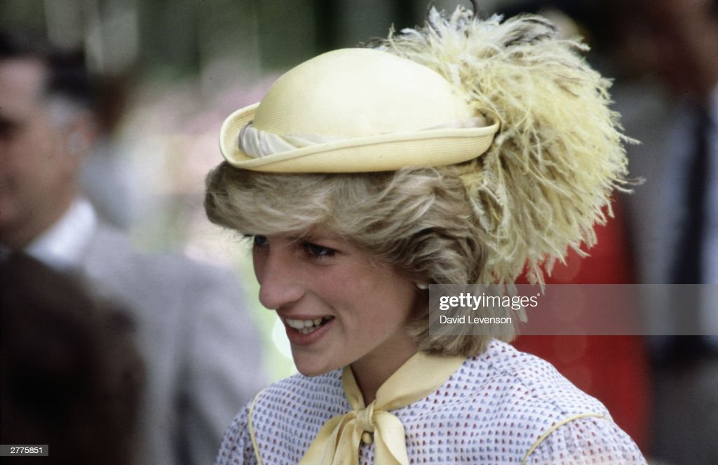 Diana Princess of Wales on a visit to Summerside, Prince Edward Island : News Photo