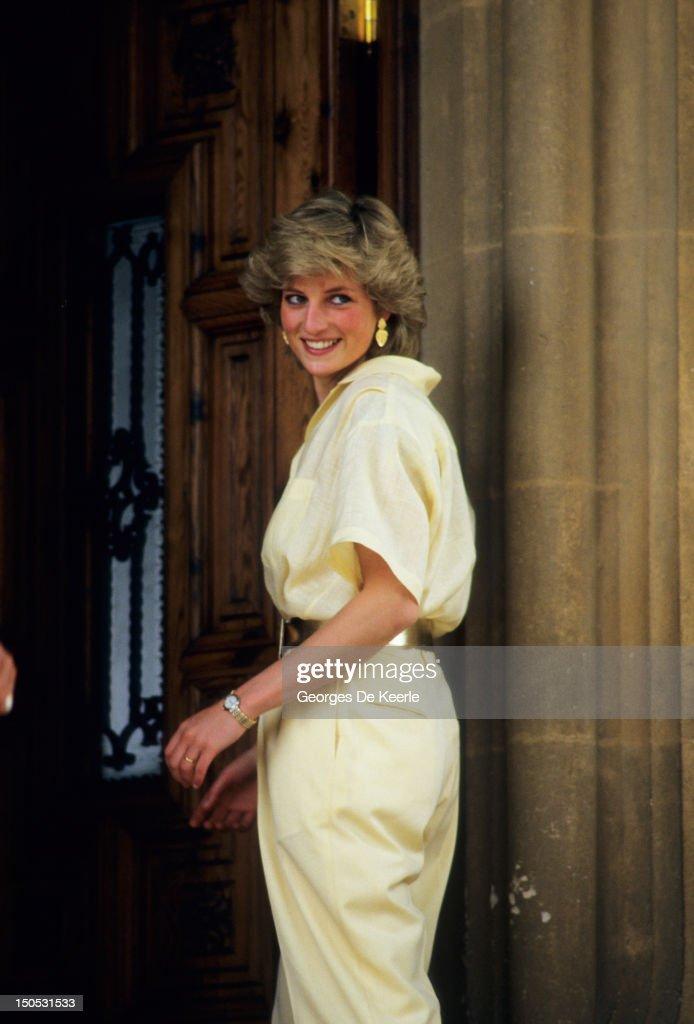 Diana in Majorca : News Photo