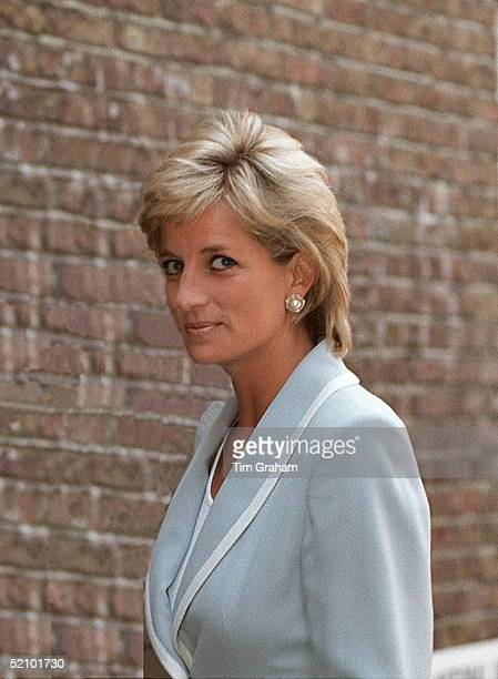 Diana Princess Of Wales Patron Of The English National Ballet On Her Visit To The English National Ballet's London Headquarters On The Day Her...