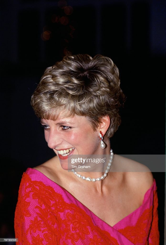 Diana, Princess of Wales, President of the Royal Marsden Hos : News Photo