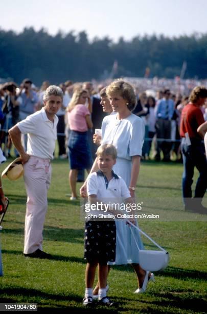 Diana Princess of Wales Prince William 1988