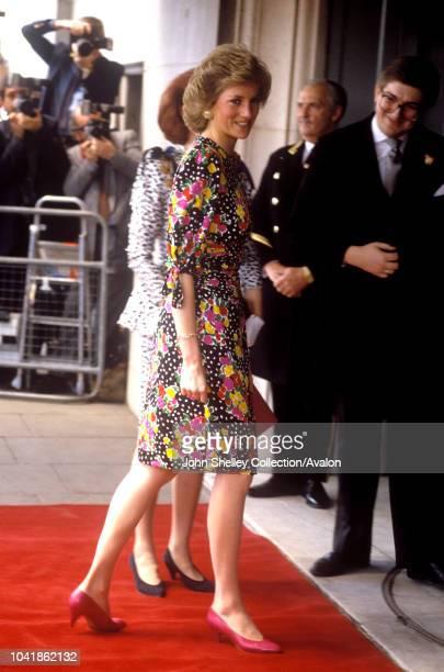 Diana Princess of Wales Savoy Hotel London 4th May 1989