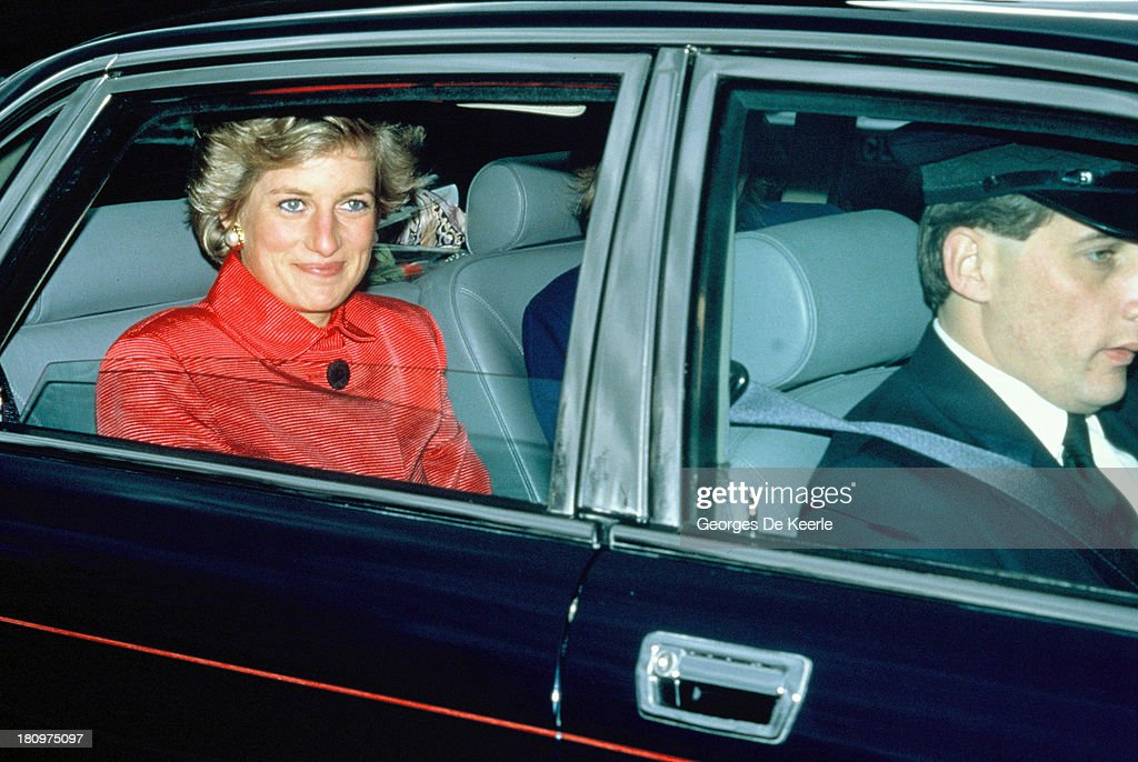 Princess Diana : News Photo