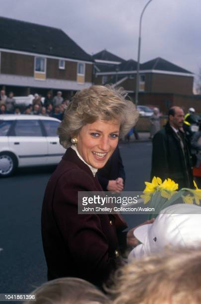 Diana Princess of Wales Townsend House Oxford 2nd June 1990
