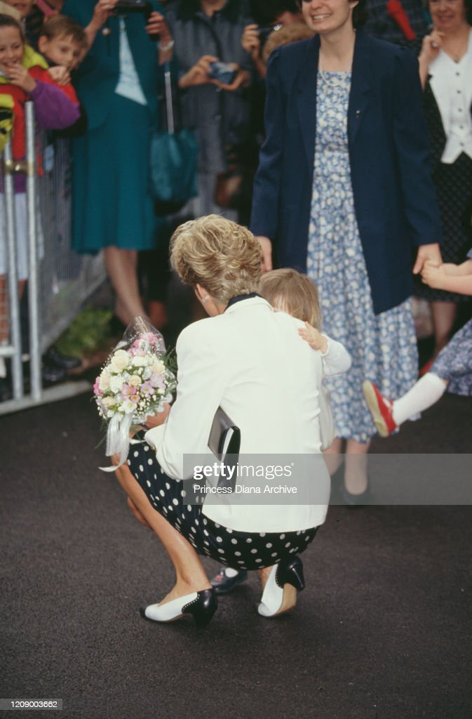 Diana In Marlow : News Photo