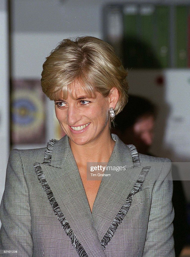 Diana In John Galliano Design : News Photo