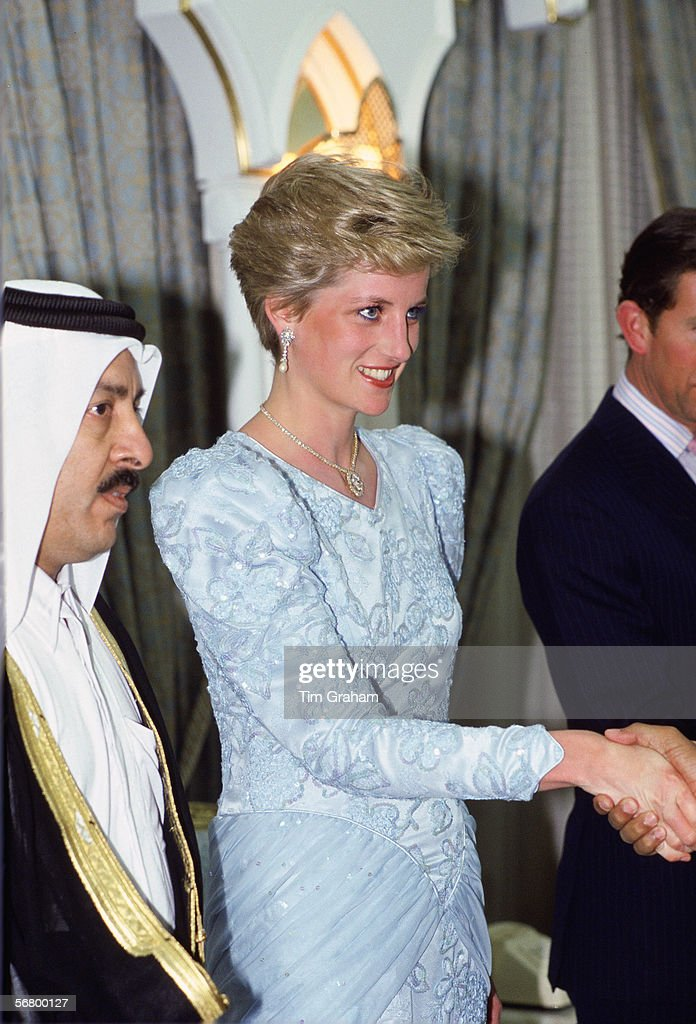 Diana Qatar Visit : News Photo