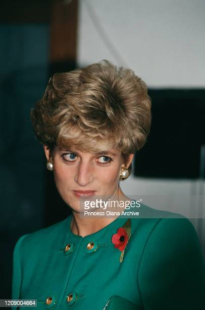Diana Princess of Wales visits the Department of Social Welfare at ChungAng University in Seoul South Korea 4th November 1992