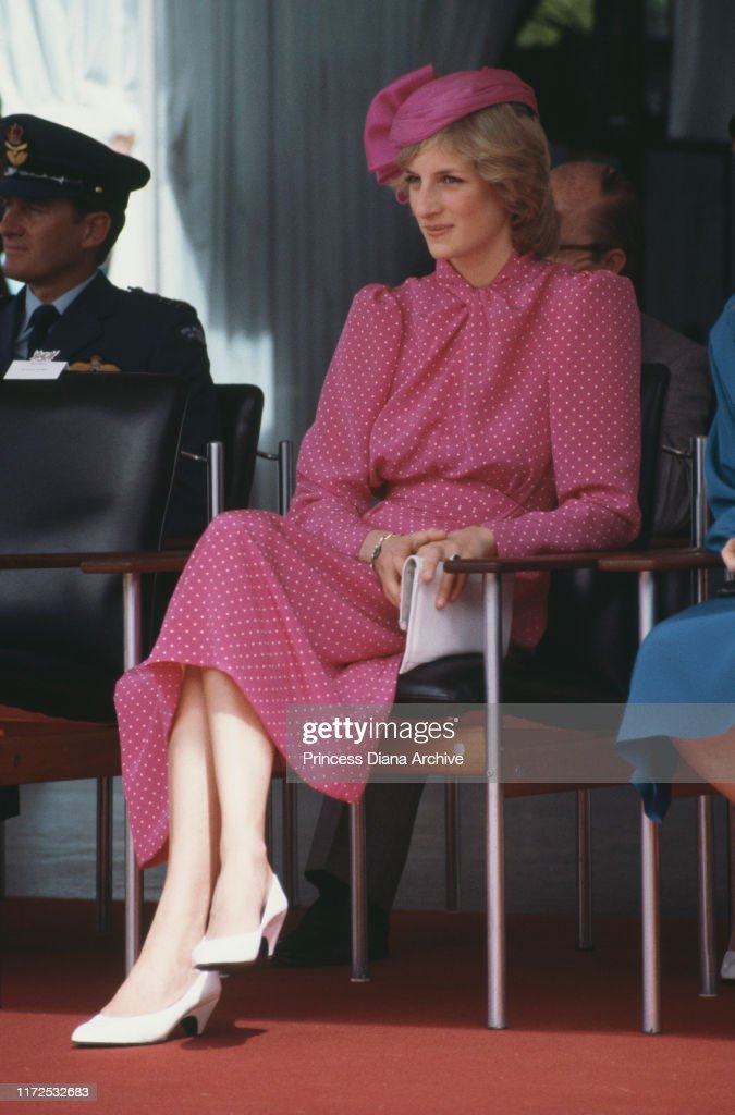 Diana In Perth : News Photo